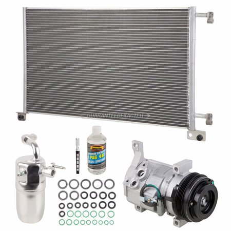 A/C Kit w/ AC Compressor Condenser Drier For Chevy Avalanche 1500 2500 2002 (Leveling Kits 2002 Avalanche)