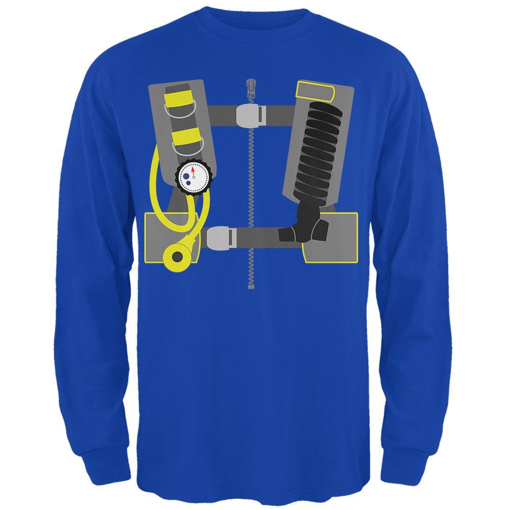 Halloween - Scuba Diver Costume Mens Long Sleeve T Shirt