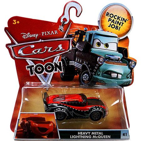 Disney Cars Main Series Heavy Metal Lightning McQueen Diecast Car