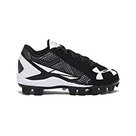 New Under Armour Leadoff Low RM Youth 11K Baseball Black/White