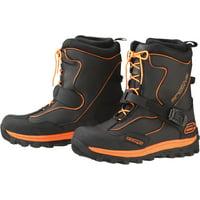 Arctiva Comp S6 Mens Insulated Snowmobile Boots Black/Orange