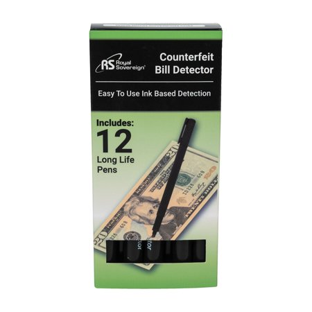 Royal Sovereign Counterfeit Protection Pens (12