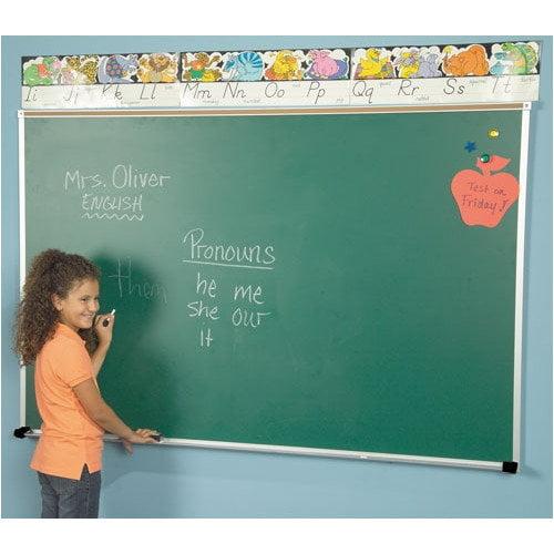 Best-Rite Wall Mounted Magnetic Chalkboard
