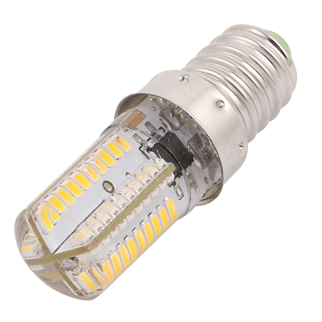 200V-240V LED Light Bulb Lamp Epistar 80SMD-3014 LED Dimmable E14 Warm White - image 2 of 2