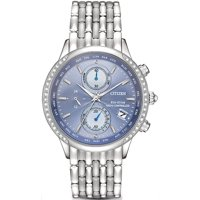 Citizen FC5000-51L Eco-Drive World Chronograph A-T Women's Watch