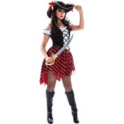 Pirate Captain Women's Adult Halloween Dress Up / Role Play Costume