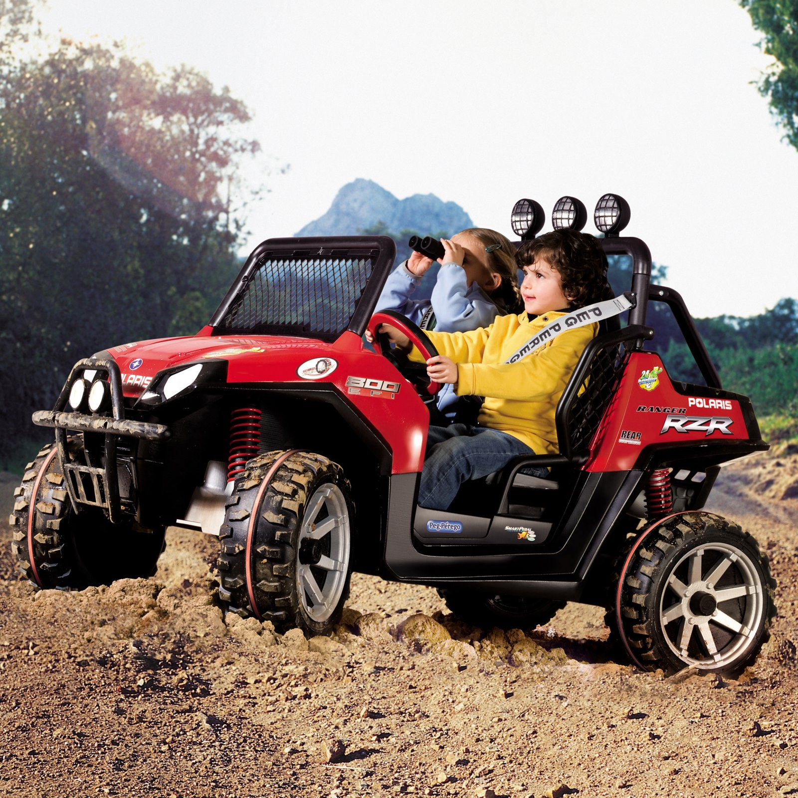 Peg Perego Polaris Ranger RZR ATV Battery Powered Riding Toy by Peg Perego USA Inc