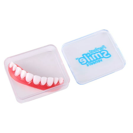 Adult Silicone Veneers Denture Paste Instant Teeth Flex Fit Perfect Smile New - image 2 de 8
