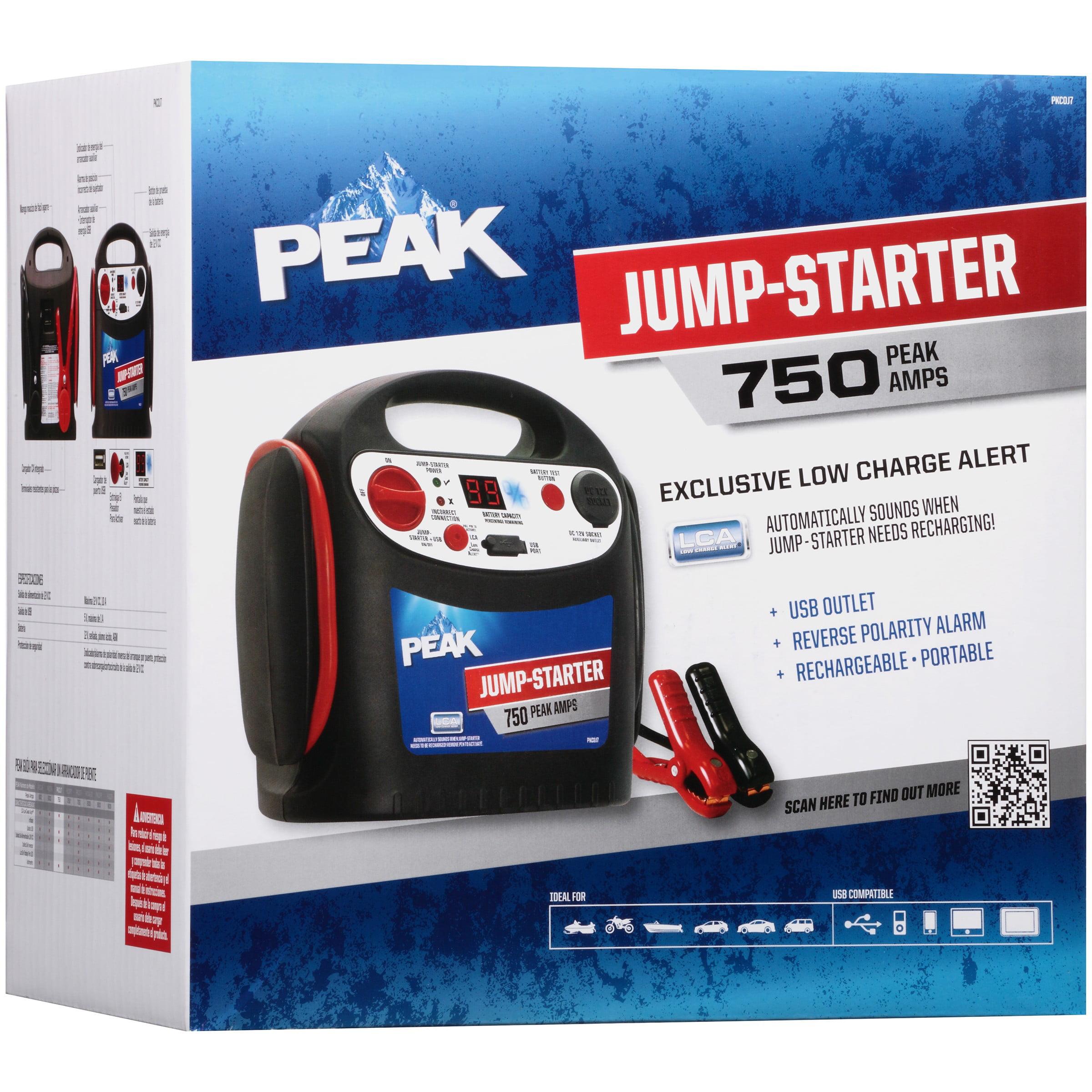 Peak® 750 Peak Amps Jump-Starter