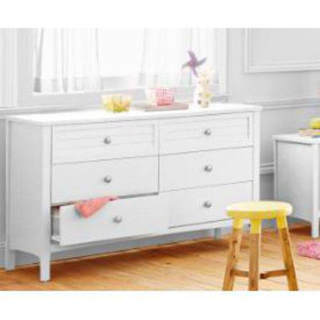 Better Homes And Gardens Kids Panama Beach 6 Drawer Dresser White