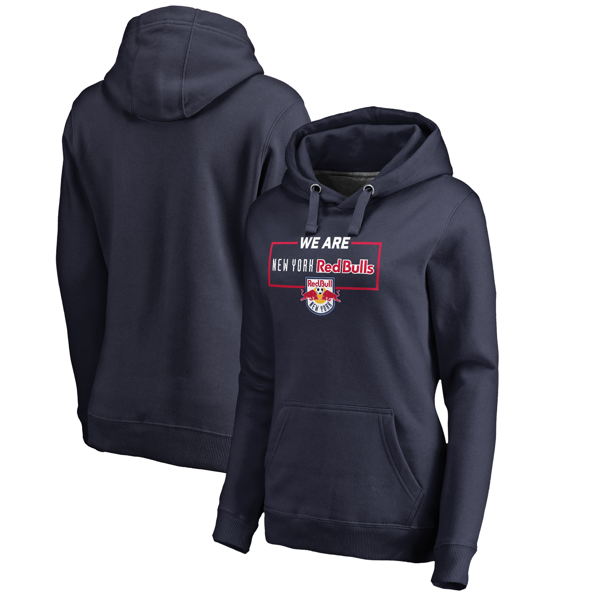 New York Red Bulls Fanatics Branded Women's We Are Pullover Hoodie - Navy