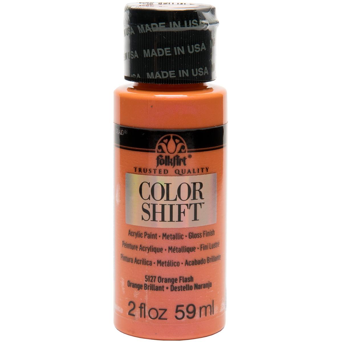 FolkArt Color Shift 2oz-Orange Flash