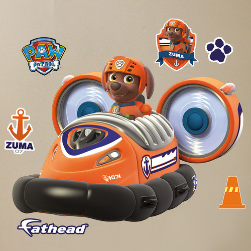 Fathead Nickelodeon Zuma's Hovercraft Peel and Stick Wall Decal