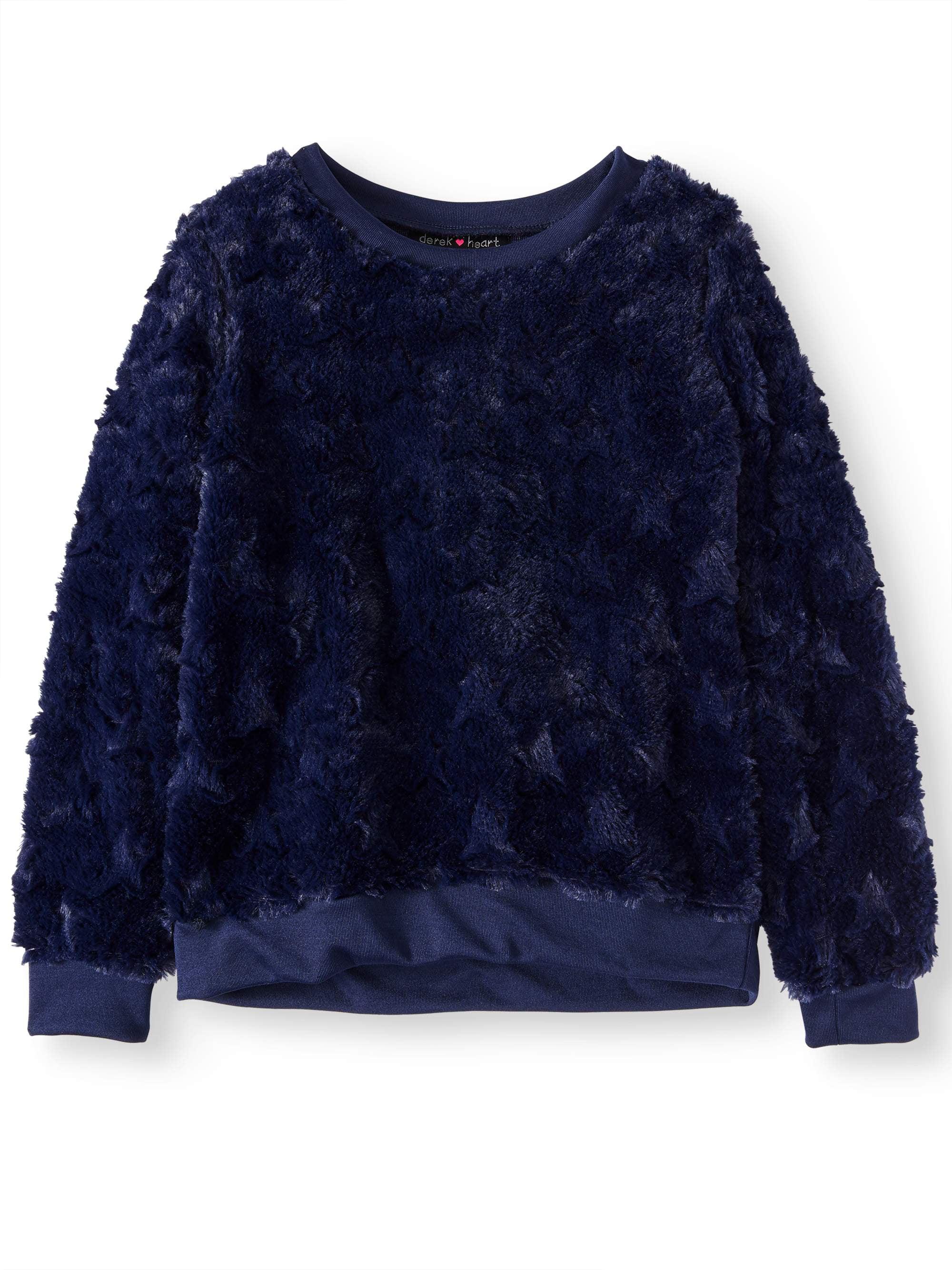 Plush Minky Sweatshirt (Big Girls)