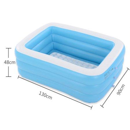 LeKing Inflatable Swimming Pool Safe Skin-friendly Bathtub Blow up Pool for Children - image 1 de 2