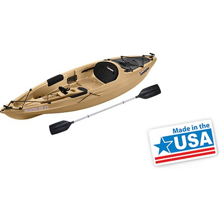 Sun Dolphin Journey 10' Sit-On Fishing Kayak with Paddle Sports Gear