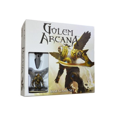 Golem Arcana Base Game Set, Best of Both Worlds: social and tactile magic of a boardgame combined with the accessibility and dynamic gameplay of an.., By Harebrained (The Worlds Best Game)