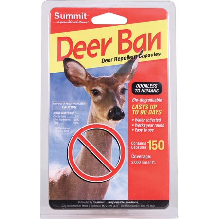 Deer Ban Repellant Capsules, 150 - Fdc Deer