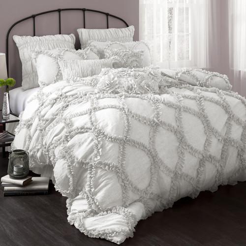 Riviera 3-Piece Bedding Comforter Set