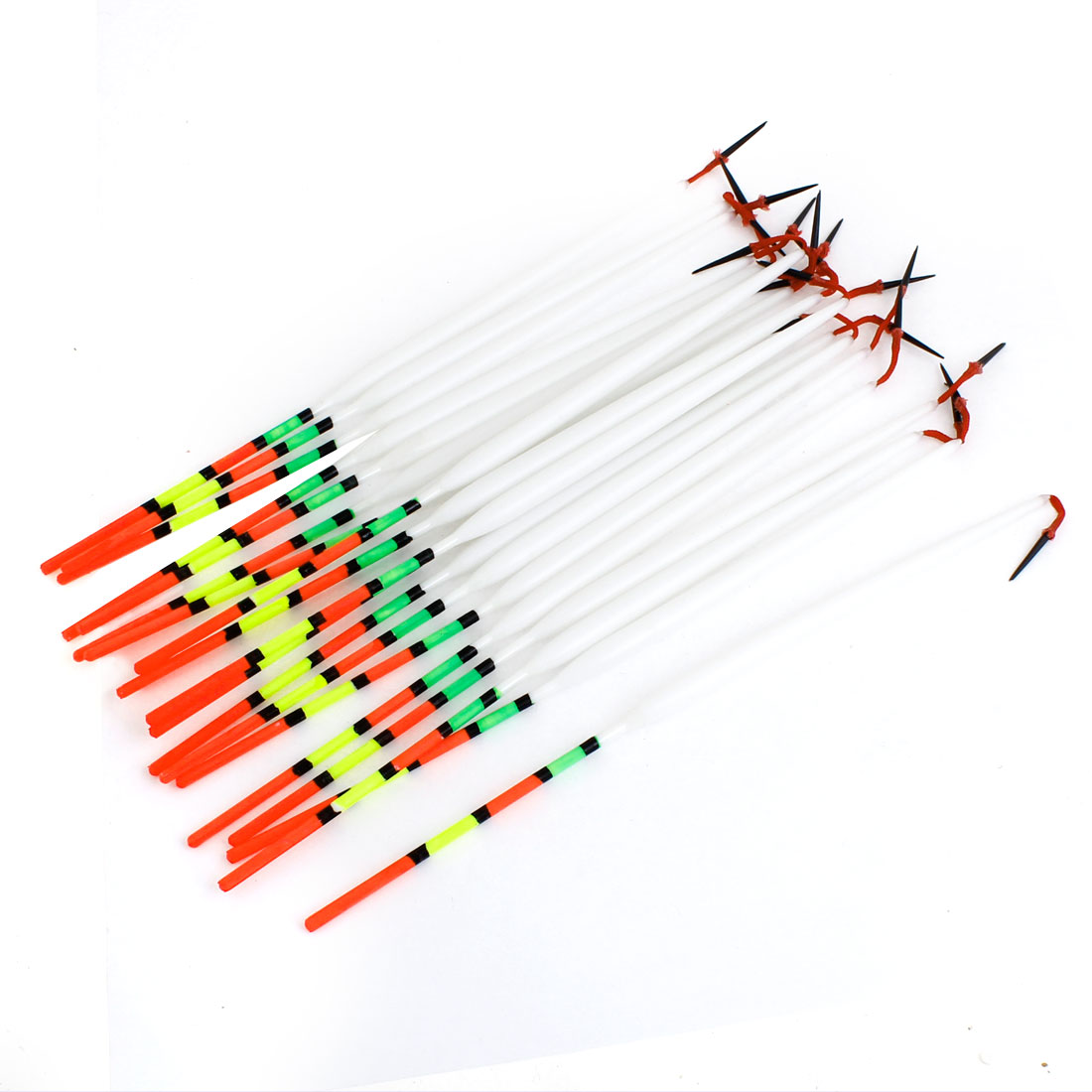 Click here to buy Unique Bargains 20 Pcs Drop Shape Fishing Floaters Bobbers 23.5cm Long.