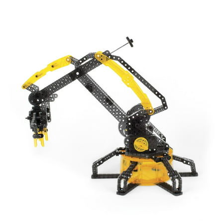 Vex Robotic Arm  Hand Powered And Can Pick Up And Relocate Items Using Four Degrees Of Freedom And An Articulated Grabber Hand By Hexbug