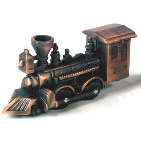 Antique Locomotive Die Cast Metal Collectible Pencil Sharpener