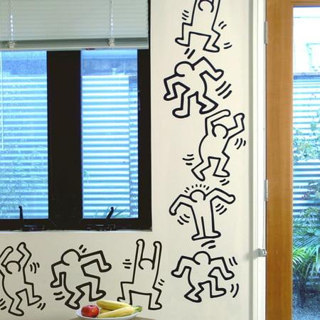 Blik Keith Haring Dancers Line Art (Dancer Coin)