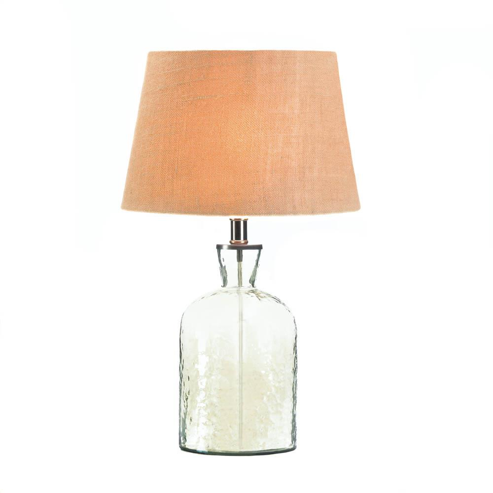 modern table lamps for living room lamp table glass clear bottle modern side table lamps for 24961