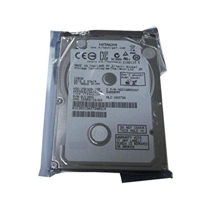 """Hitachi 160GB 5400RPM 8MB Cache SATA 3.0Gb/s 2.5"""" Hard Drive (For PS3 Fat, PS3 Slim, PS3 Super Slim)- w/1 Year Warranty"""