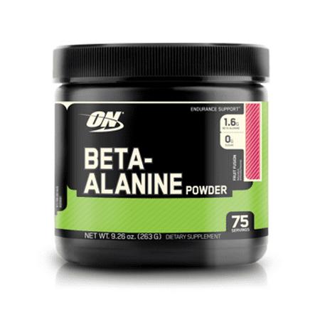 Optimum Nutrition Beta-Alanine Powder, Fruit Fusion, 75 Servings
