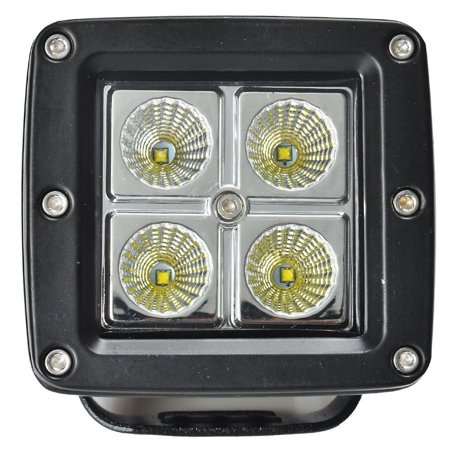 Square Frog - 8X 3inch 16W Cree LED Work Light Square Cube Pods Offroad Fog 4X4WD Bumper FLOOD