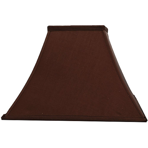 Better Homes and Gardens Brown Square Bell Table Shade