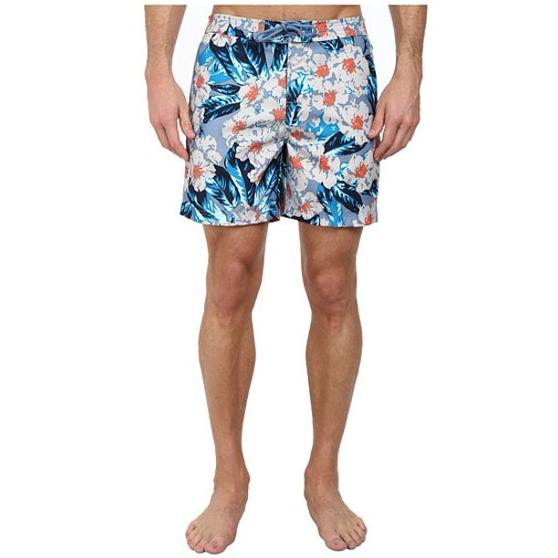 Original Penguin Dark Floral Print Fixed Volley Shorts 38