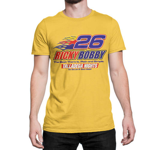 talladega men Talladega nights el diablo men's black t-shirt new sizes s-2xl $1799 buy it now free shipping new t line graphic tee black crew neck short sleeve talladega nights t-shirt el diablo design on the front and material that guarantees 100% comfort talladega nights - shake and bake 1 t shirt.