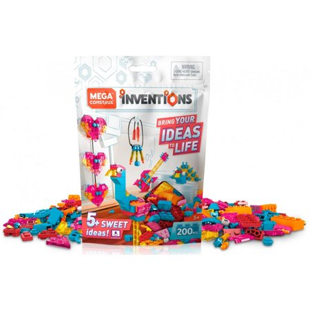 Mega Construx Inventions Candy-Colored Brick Building Set