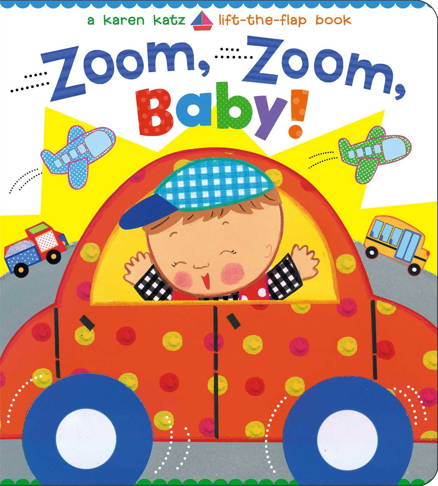 Zoom Zoom Baby (Board Book)