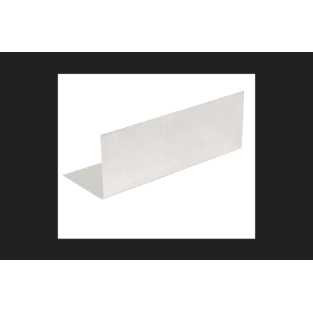 Amerimax Galvanized Steel Pre-Bent Flashing Shingle Silver 4 in. H x 1 ft. L x 4 in. W Roof Flas