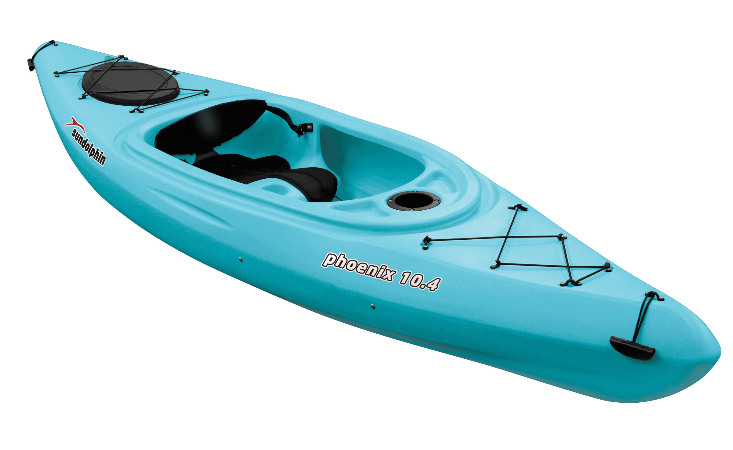 Phoenix 10.4 Sit-In Kayak, Paddle Included by KL Outdoor