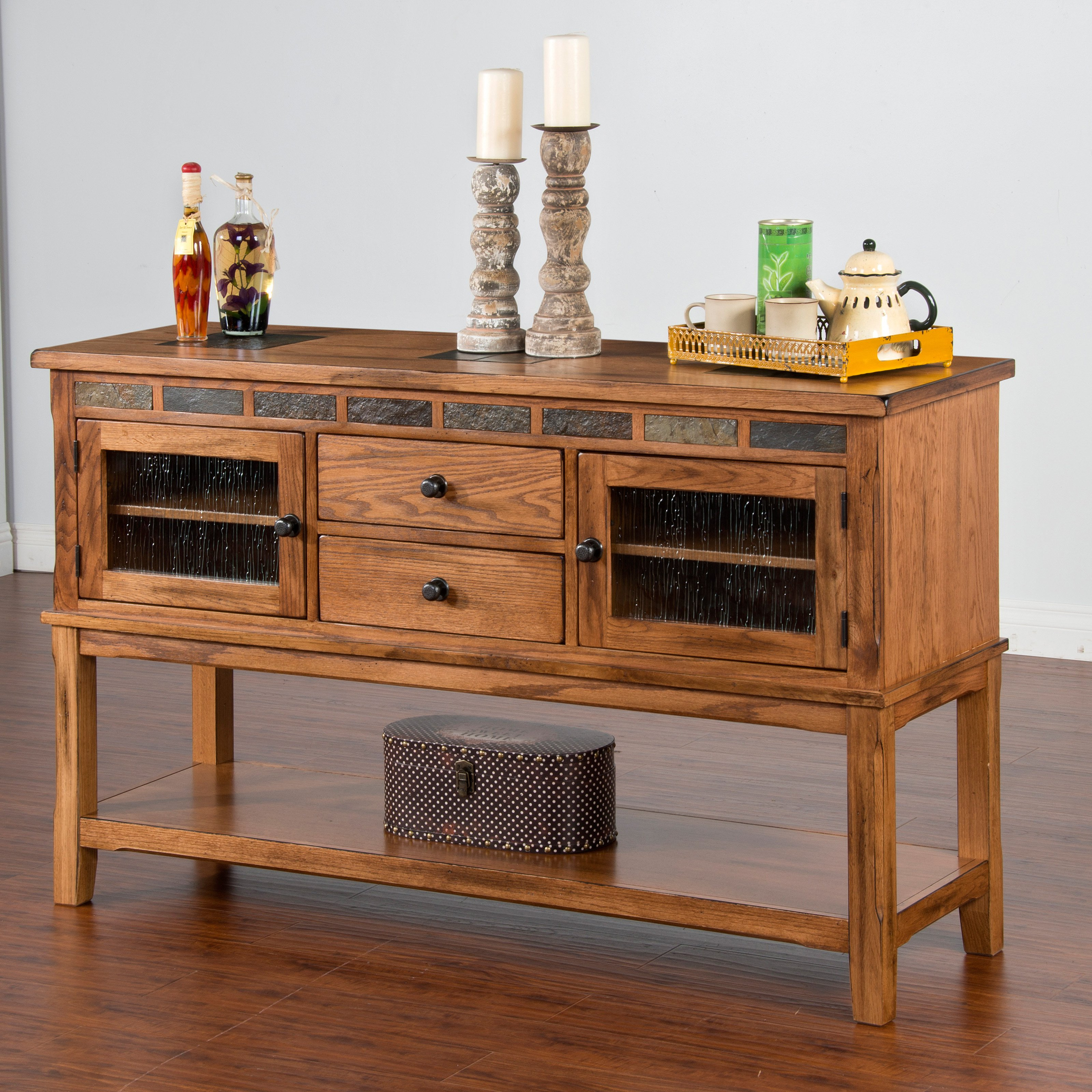 Sunny Designs Sedona Server with Two Drawers