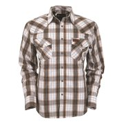 Outback Trading Shirt Mens L/S Harlin Performance Faded Gold 42641