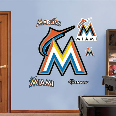 Fathead Miami Marlins 2012 Logo by
