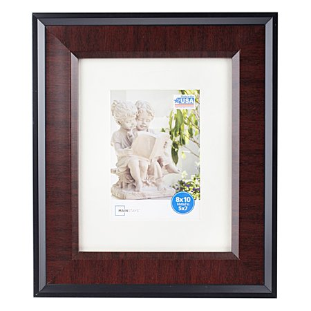 mainstays 8x10 black cherry photo frame. Black Bedroom Furniture Sets. Home Design Ideas
