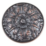 Atlas Homewares Hammered Collection Small Round Cabinet Knob - Burnished Bronze