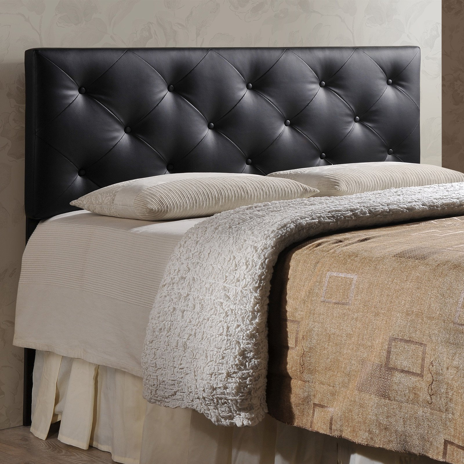 Baxton Studio Baltimore Queen Upholstered Headboard by Baxton Studio