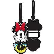 Disney Luggage & Backpack Name Tag Minnie Sitting Luggage Tag