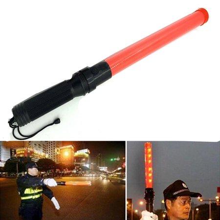 40cm Outdoor Safety LED Traffic baton Safety Signal Warning Flashing at night Wand Baton by hand