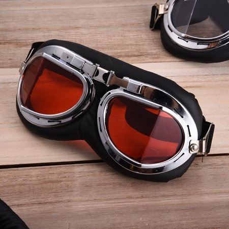 Harley Goggles for Harley Davidson Motor Protective Gear Glasses Motorcycle Accessories & Parts Helmet (Best Helmet Goggle Combination)