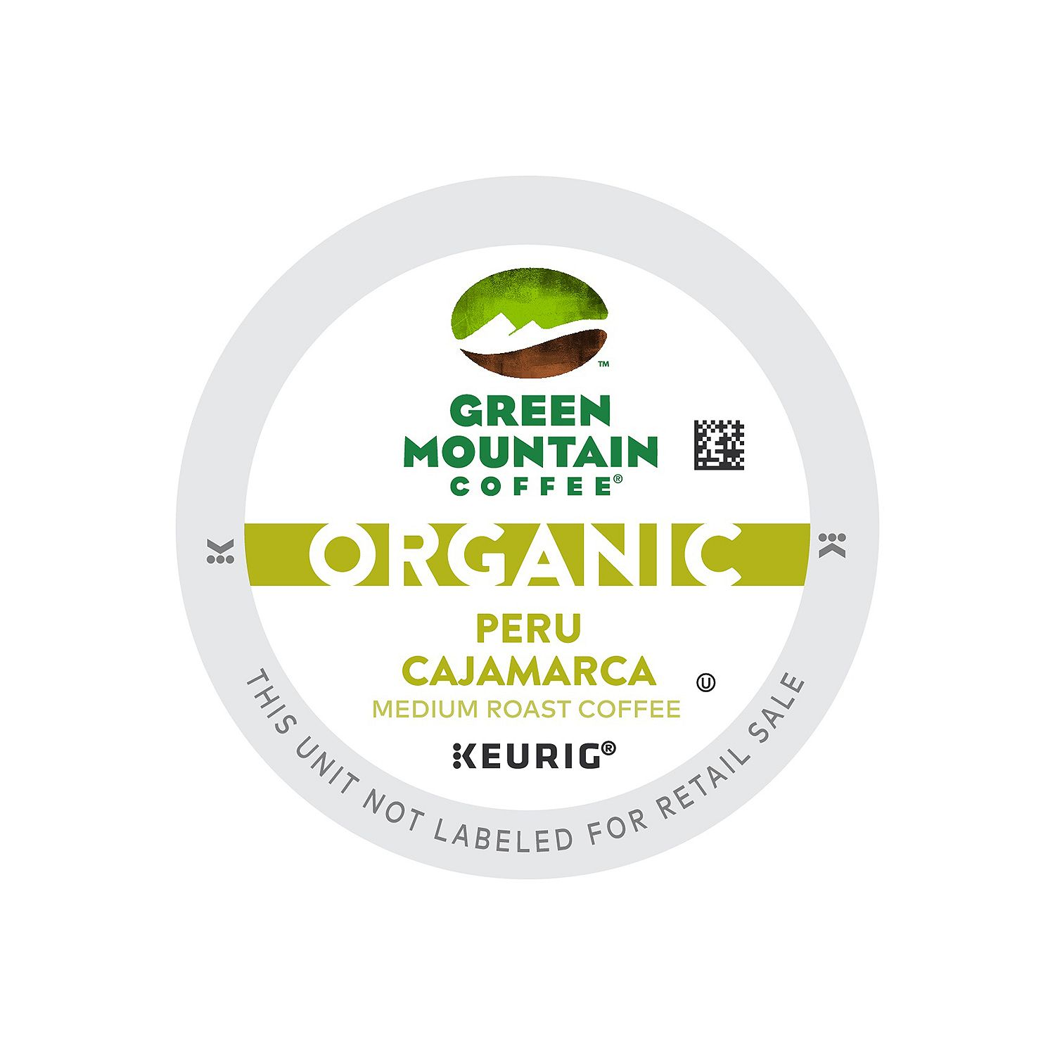 Green Mountain Coffee Organic Peru Cajamarca, K-Cup Portion Pack For Keurig Brewers (96 Count)