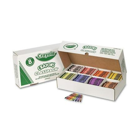 Wholesale Crayola Crayons (Crayola Classpack Crayons, 8 Colors, 800 Total)