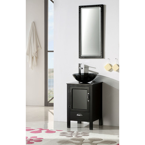 legion furniture 19'' single bathroom vanity set - walmart